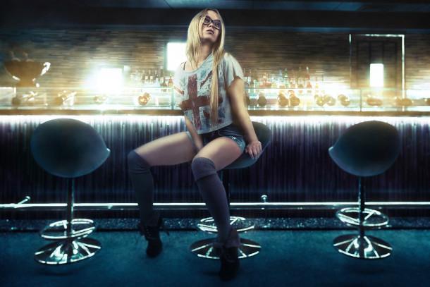пикап девушки в баре