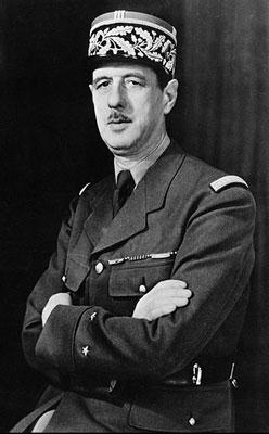 Генерал Шарль Де Голль - президент Франции