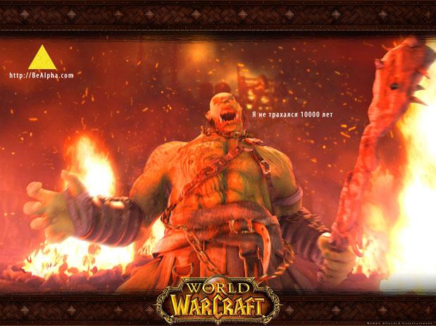 обои warcraft : я не занимался любовью 10000 лет