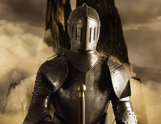 Рыцарь или остались только латы
