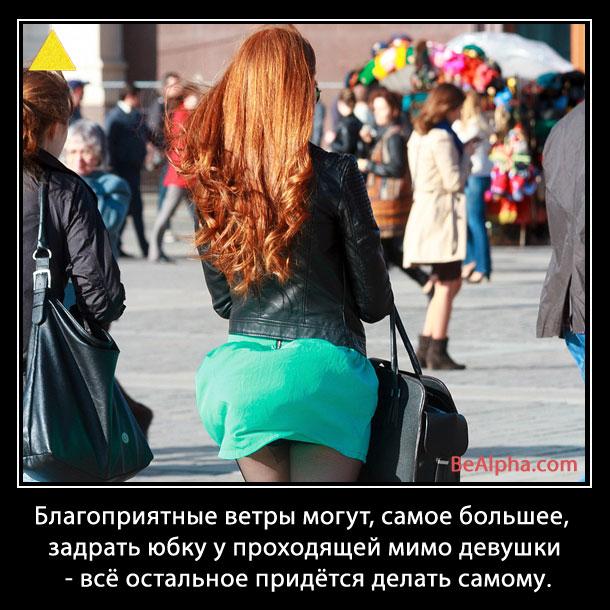 Мем о девушке и ветре