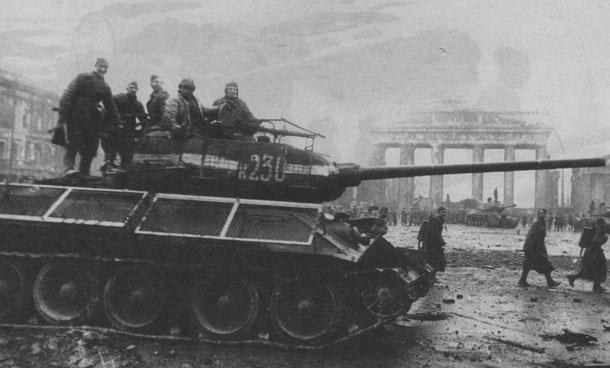 Т34 у брандербургских ворот
