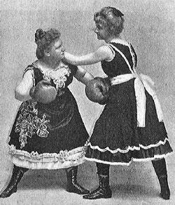 Тренировочные бабы пикаперов начала века